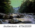 White Mountains  New Hampshire...