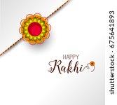 vector abstract for raksha... | Shutterstock .eps vector #675641893