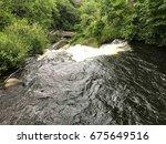 beautiful view of minnehaha... | Shutterstock . vector #675649516