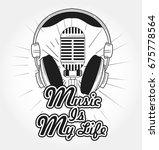 music t shirt design | Shutterstock .eps vector #675778564