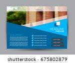 flyer  brochure  billboard... | Shutterstock .eps vector #675802879