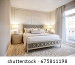 urban contemporary modern... | Shutterstock . vector #675811198