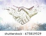 Abstract Polygonal Handshake O...