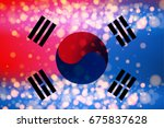 constitution day in south korea ... | Shutterstock .eps vector #675837628