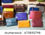 different color of billfold in... | Shutterstock . vector #675850798