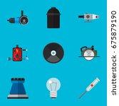 set of 9 editable instruments...