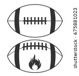 american football vector | Shutterstock .eps vector #675881023