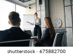 business conference... | Shutterstock . vector #675882700