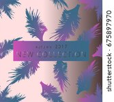 new collection fashion header.... | Shutterstock .eps vector #675897970
