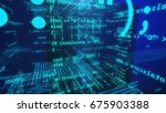 Stock photo  d illustration of application software programming source code open source concept 675903388