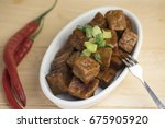 traditional asian cuisine dried ... | Shutterstock . vector #675905920