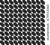 retro memphis geometric shapes... | Shutterstock .eps vector #675913360
