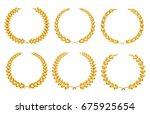 Golden Laurel Wreaths.laurel...