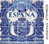 spain symbol spanish ceramic...