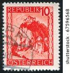 austria   circa 1946  stamp...   Shutterstock . vector #67596568