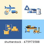 digital raster yellow blue... | Shutterstock . vector #675973588