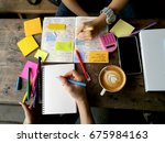 student life and activities.... | Shutterstock . vector #675984163