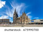cologne  cathedral  | Shutterstock . vector #675990700