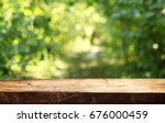 empty table background | Shutterstock . vector #676000459