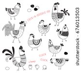 Vector Images Of Chickens  Hen...