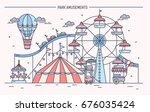 nice horizontal banner of... | Shutterstock .eps vector #676035424