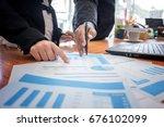 business people meeting.... | Shutterstock . vector #676102099