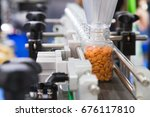 pharmaceutical industry ... | Shutterstock . vector #676117810