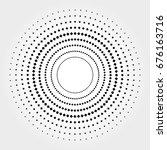 halftone vector illustration | Shutterstock .eps vector #676163716