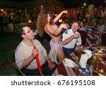 dubai. uae. circa 2005. shisha  ... | Shutterstock . vector #676195108