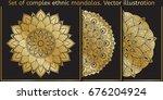 vector design element. template ... | Shutterstock .eps vector #676204924