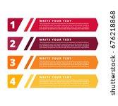 color infographics design... | Shutterstock .eps vector #676218868