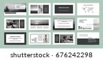 business template for brochure... | Shutterstock .eps vector #676242298