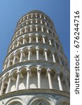 the leaning tower of pisa in...   Shutterstock . vector #676244716