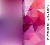 abstract polygonal vector...   Shutterstock .eps vector #676253548
