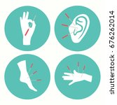acupuncture health therapy icon ... | Shutterstock .eps vector #676262014