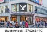 Small photo of TOKYO, JAPAN - JULY 10TH, 2017. American Eagle outlet in Ikebukuro, a commercial and entertainment district in Toshima, Tokyo