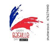 bastille day. vector background.   Shutterstock .eps vector #676274440