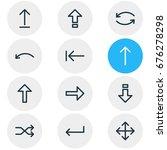 vector illustration of 12 sign... | Shutterstock .eps vector #676278298