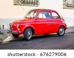 pisa  italy   october 2  retro... | Shutterstock . vector #676279006
