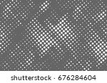 halftone dots background   logo ... | Shutterstock .eps vector #676284604