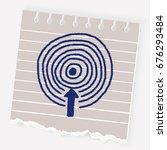 target doodle | Shutterstock .eps vector #676293484