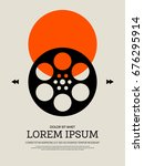 movie and film modern retro... | Shutterstock .eps vector #676295914