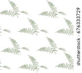 seamless floral pattern with... | Shutterstock .eps vector #676333729