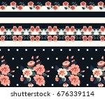 Seamless Gorgeous Border In...
