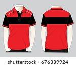 polo shirt design   Shutterstock .eps vector #676339924