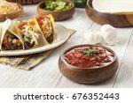 taco ingredients   Shutterstock . vector #676352443