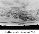 background black and white  sky  | Shutterstock . vector #676369243