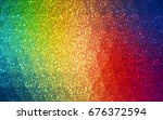 dark multicolor vector... | Shutterstock .eps vector #676372594