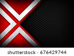 abstract metal with mesh...   Shutterstock . vector #676429744