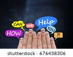 support or call center concept... | Shutterstock . vector #676438306